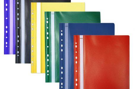 Dosarele din plastic, mai utile decat credeai la birou